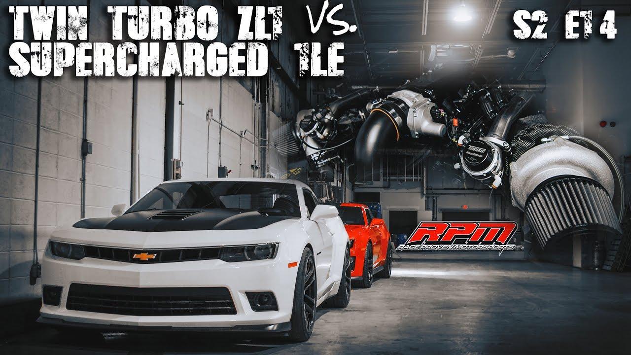 Twin Turbo Zl1 Vs Supercharged 1le 5th Gen Camaro Rpm S2