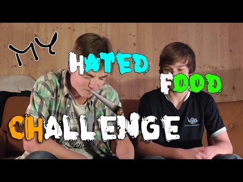 My Hated Food Challenge || Daisz a Andrew