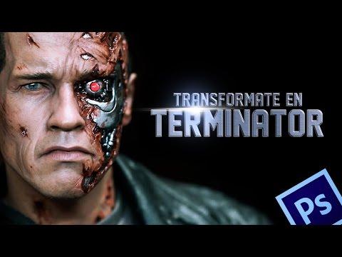 Terminator - Efecto en Photoshop