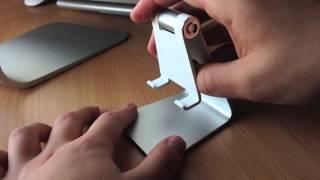 Обзор Kuel Stand S10 (Подставка для iДевайсов в стиле iMac)