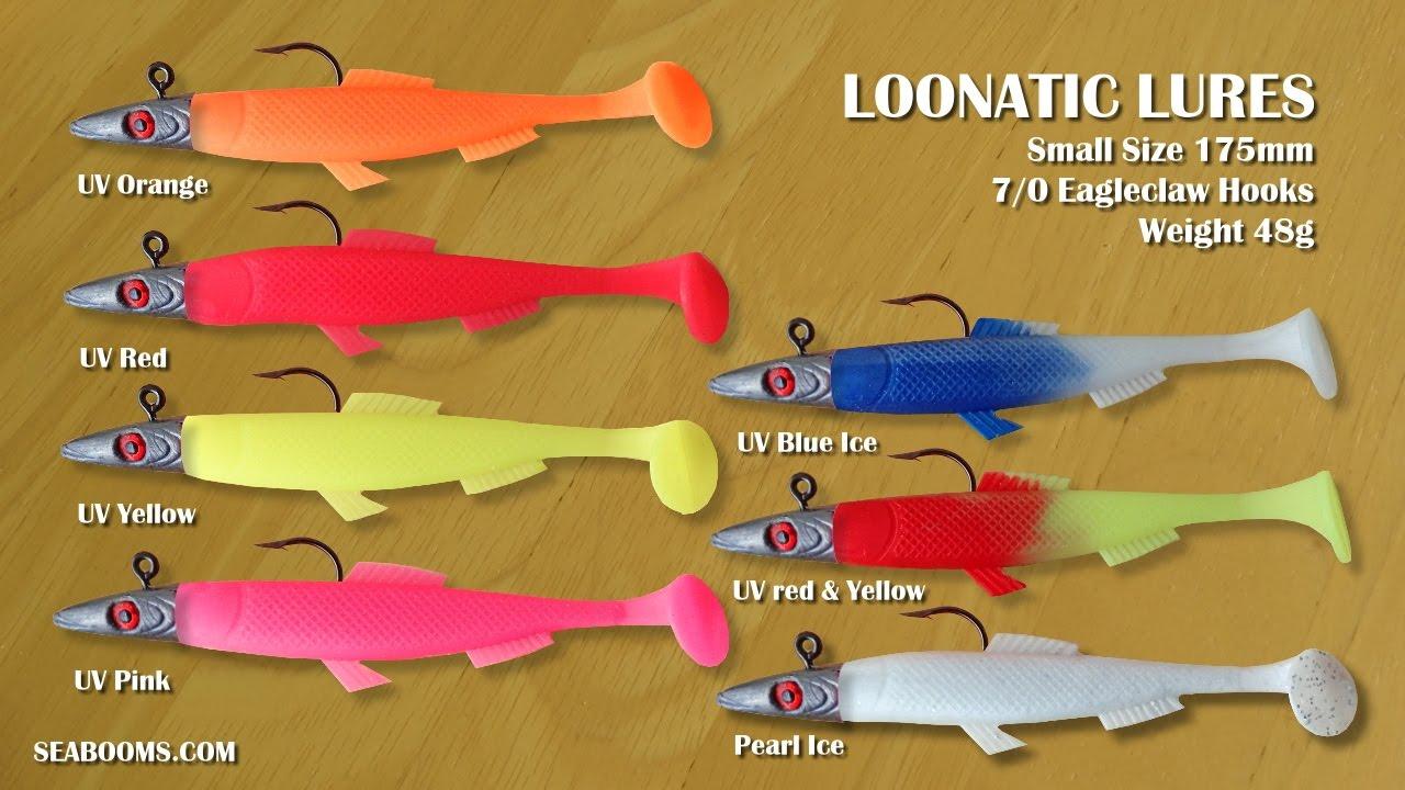 Crazytail XL lures Norway Iceland Alaska big Cod Halibut Black UV Orange Tails