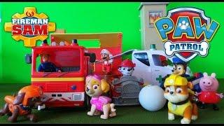 New Paw Patrol & Fireman Sam Episodes Compilation Nickelodeon Best Toy Episodes
