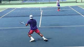 Jorge Figueroa  Fall 2019 Tennis Match Edition Guatemala  Update