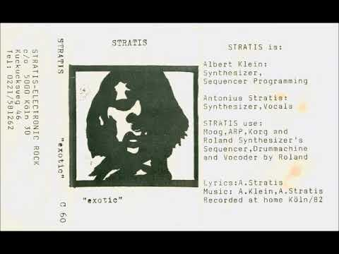 Stratis - Exotic (Germany 1982, Minimal Synth/NDW/Synth-Pop) - Full Cassette