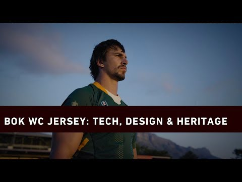 Bok Rugby World Cup jersey: The tech, design, and heritage