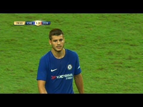 Alvaro Morata vs Bayern Munich (Chelsea Debut) 25/07/2017 HD 1080i