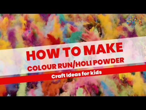 How to make Colour Run / Holi Festival Powder - YouTube | 480 x 360 jpeg 31kB
