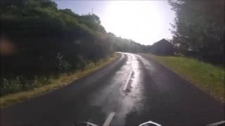 Aveyron à moto : route Entraygues - Saint-Amans-des-Cots