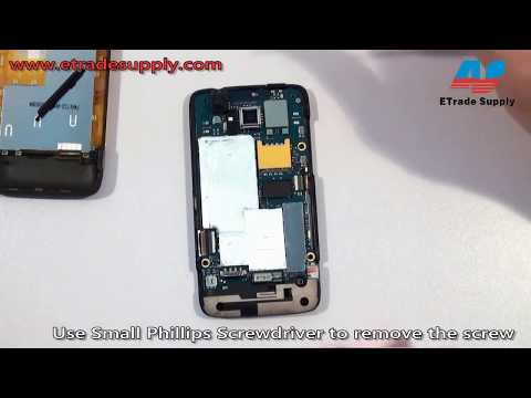 How to take apart/tear down/repair the HTC 7 Trophy