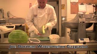 Joe Dorman Watermelon Gazpacho