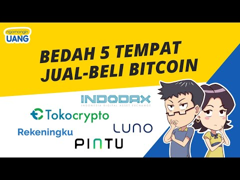 Bedah 5 Exchange Crypto Di Indonesia | Tempat Jual-Beli Bitcoin