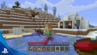 MINECRAFT - October Feature Updates Trailer | PS4, PS3, PS Vita