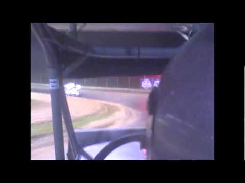 Sweet Springs Motorsports Complex May 19, 2012 Open Class in car with Dallas Wood