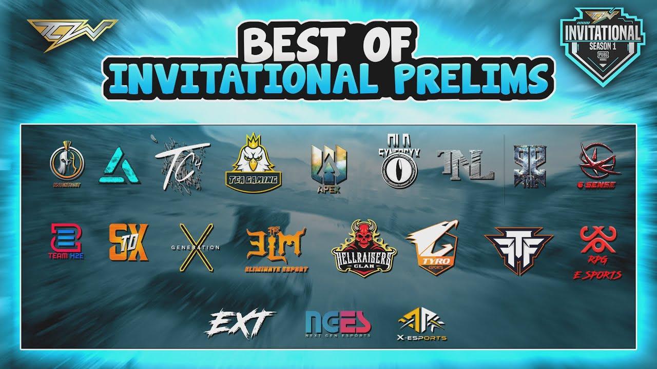 TCW Invitational Prelims Highlights   Pubg Mobile   Top Clan War