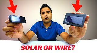 Team SOLAR POWERED or HARD WIRE? (Tire Pressure Monitors)