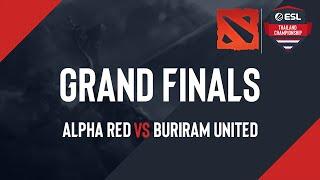 ESL Thailand Championship - Dota 2: Grand Finals  [AR -vs- Buriram ]]