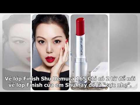 Ở đâu bán shu 165 tốt nhất? Review son shu uemura màu rd165