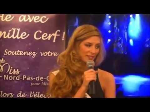 MISS FRANCE 2015 - Camille CERF (Miss Nord-Pas-de-Calais)