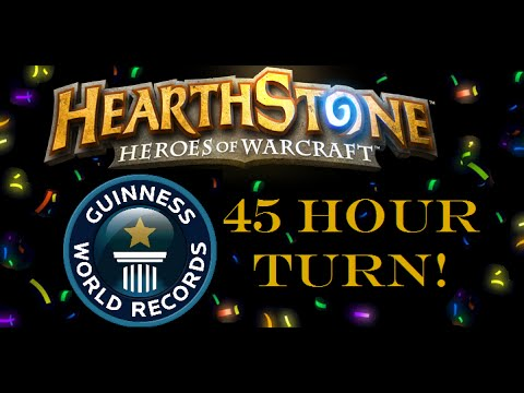 Hearthstone World Record 45 Hour Turn!!!