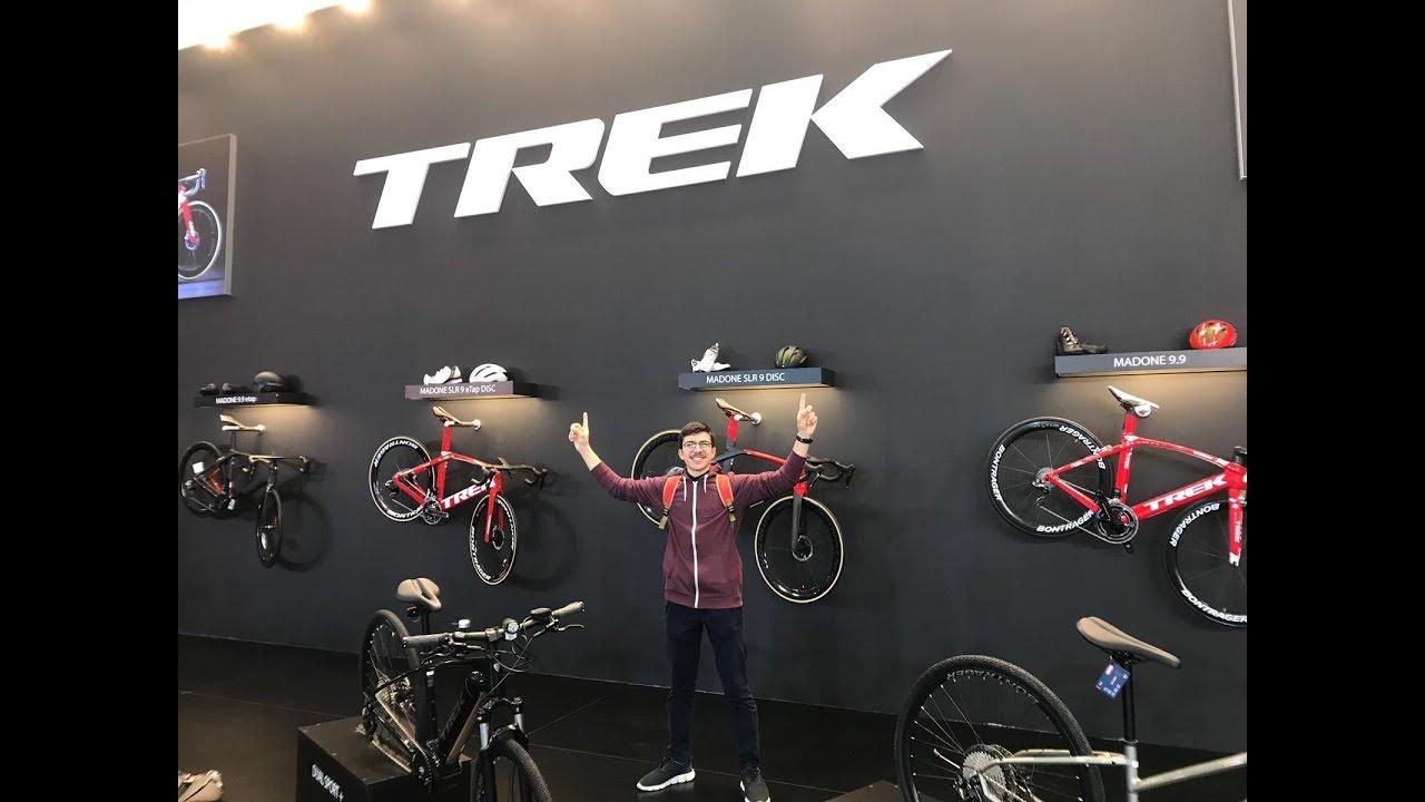 معرض اسطنبول للدراجات الهوائية شركة تريك Trek Bicycle Exhibition Youtube