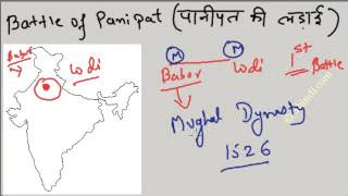 Battle of Panipat - First, Second and Third :  Remember easily : History of India