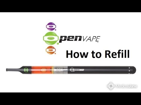 How To Refill On Vape Cartridges Youtube