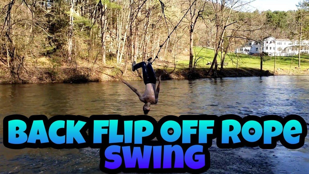 Bridge rope swing video - YouTube