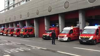 VIDÉO. Les pompiers de Poitiers disent adieu à la caserne de Pont Achard