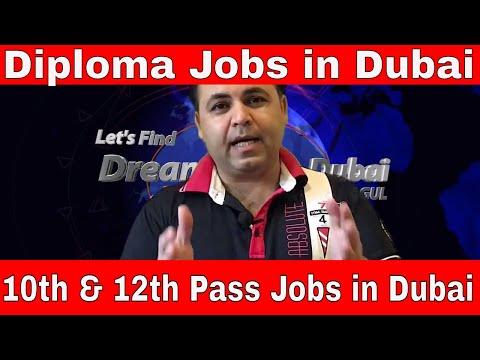10th Pass Jobs in Dubai, Diploma Vs Degree scope in Dubai, How to find a job in Dubai