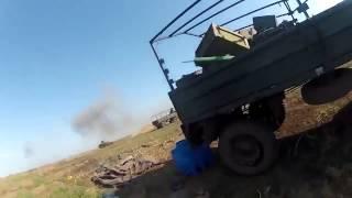 Атошник попал под обстрел. Видео с нашлемной камеры. / War in Ukraine