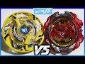 Maximus Garuda .8F.Fl vs Revive Phoenix .10.Fr - Beyblade Burst ベイブレードバースト