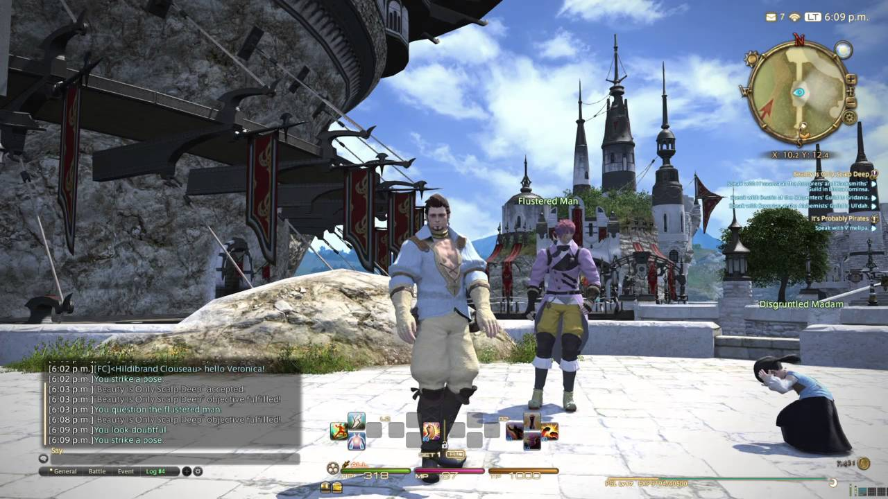 New Highlander Male Pose -FINAL FANTASY XIV