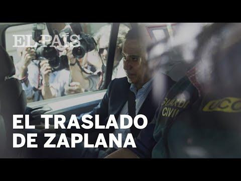 Así ha sido trasladado Zaplana tras su detención