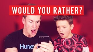BROTHERS WOULD YOU RATHER