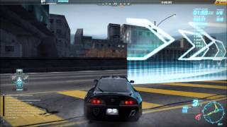 Need For Speed World Race: Hastings (The longest Race in game)