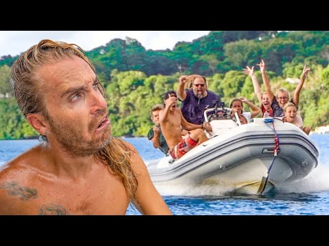 Redneck Invasion! Sailing Zatara Took Over Our Anchorage!! (Expedition Drenched S1 Ep. 42)