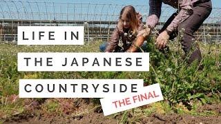 ORGANIC FARMING & SAYING GOODBYE   宮崎県綾町での田舎暮らし体験