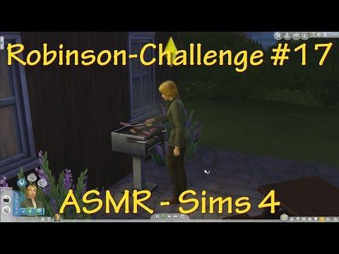 ASMR - Sims 4 - Robinson-Challenge #17 - deutsch - Grillen - Duur: 27:54.