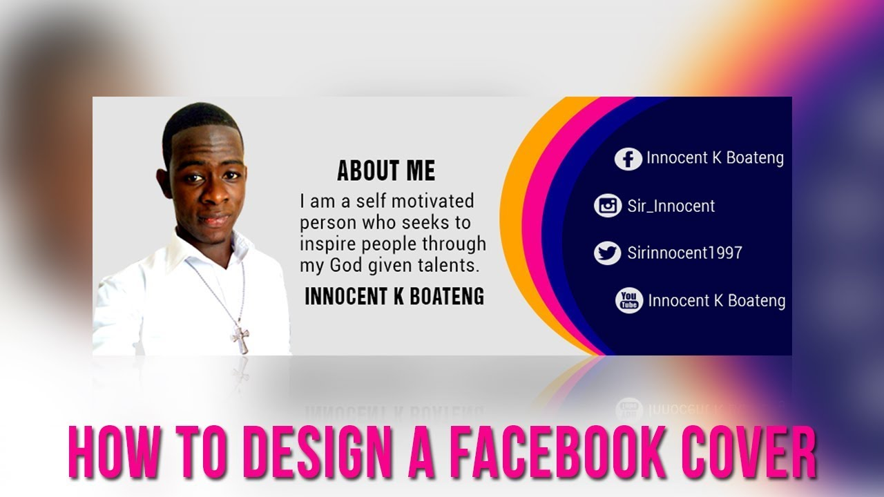 Photoshop Tutorial | How To Design A Facebook Cover