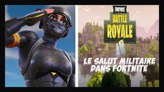LE SALUT MILITAIRE/dans//FORTNITE// battle royale//DUA LIPA-NEW RULES (remix) thumbnail