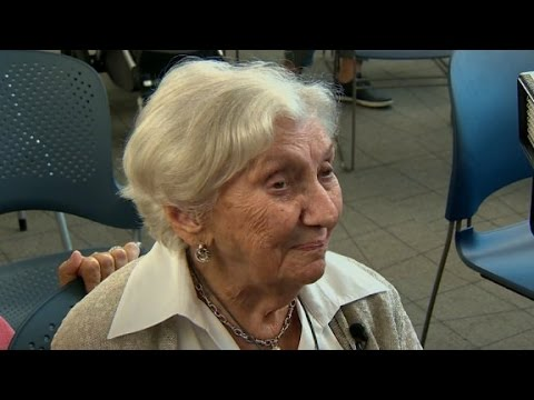 100-year-old Holocaust survivor finally becomes US citizen