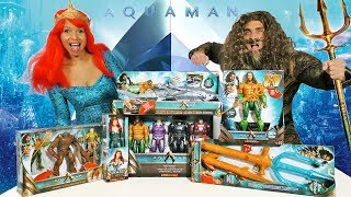 Aquaman Toy Challenge - Mera Vs. Aquaman ! || Toy Review || Konas2002