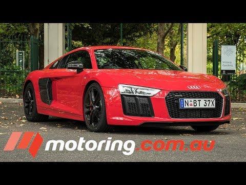 Audi R8 V10 RWS - Supercar In The City | Motoring.com.au