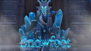 Fortnite Snowfoot Skin ❄️ Rampage/Gameplay!