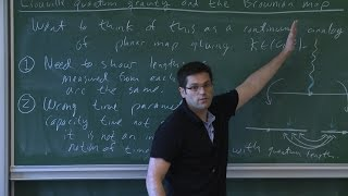 Jason Miller - 2/4 Equivalence of Liouville quantum gravity and the Brownian map