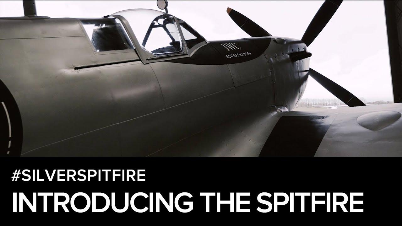 Around the World in the #SilverSpitfire with IWC Schaffhausen