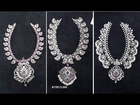 latest pure silver jewellery