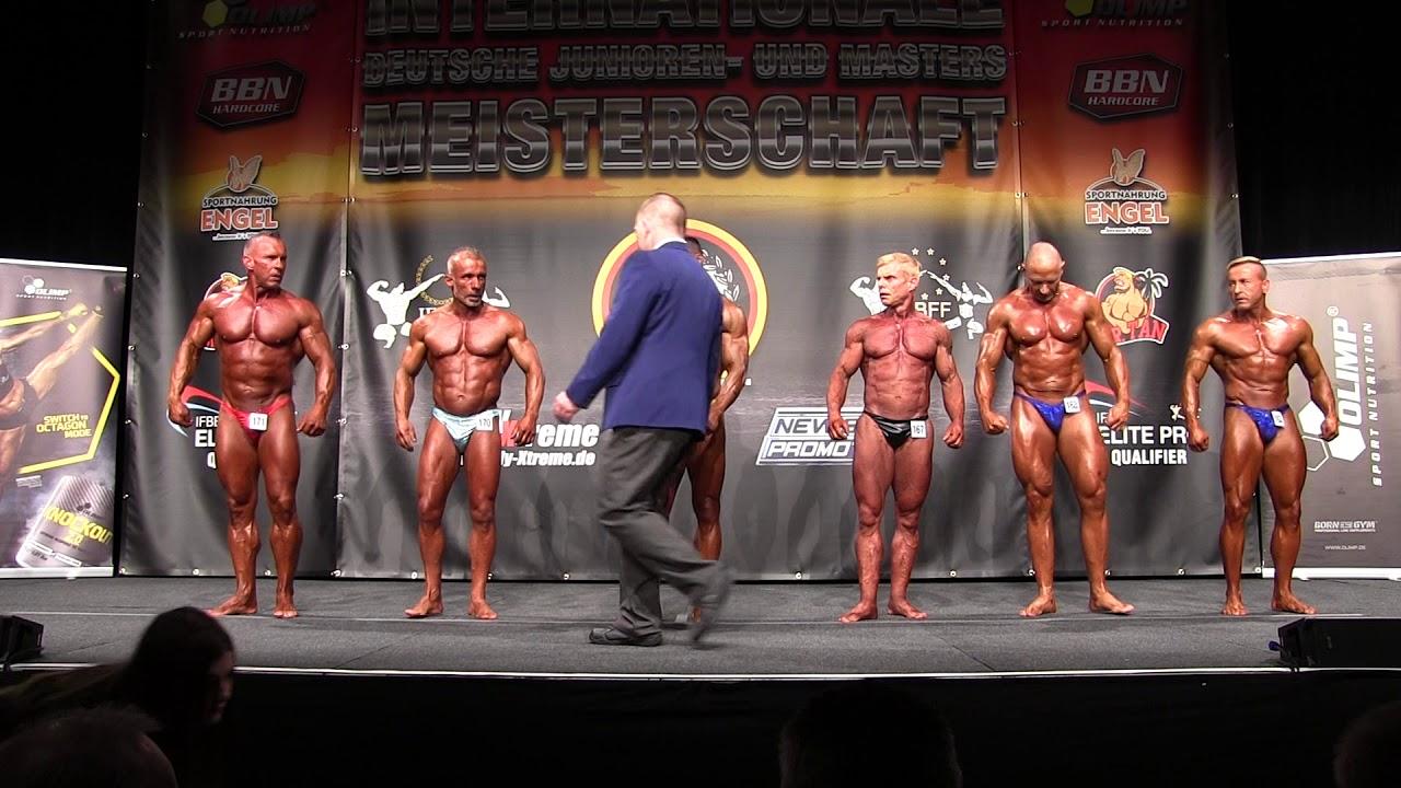 Masters Bodybuilding Ü50 Finale @Int Deutsche Junioren