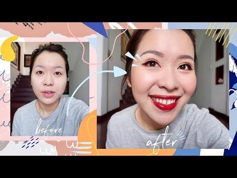 Makeup đơn giản hô biến mắt  một mí, mí sụp thành hai mí! | Letsplaymakeup