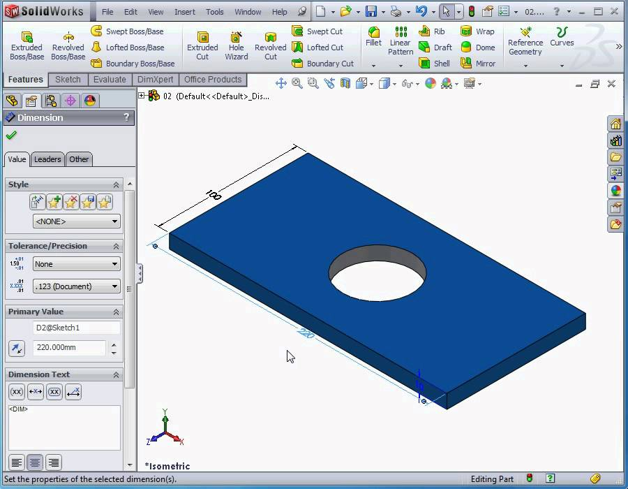 SolidWorks tutorials - What is parametric modeling? - YouTube